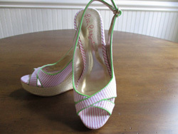things that sell best on ebay - lily pulitzer wedge