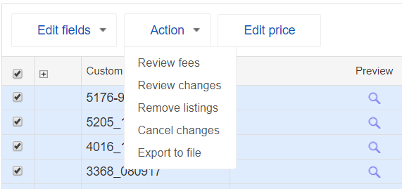 export ebay listings to excel update 1