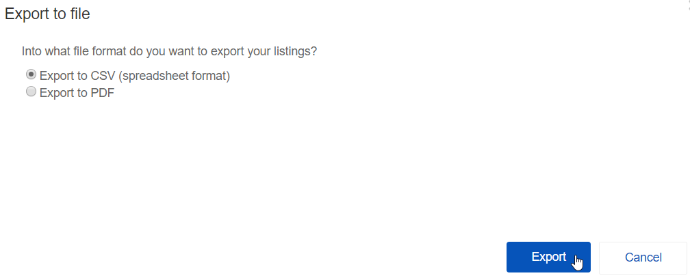 export ebay listings to excel update 2